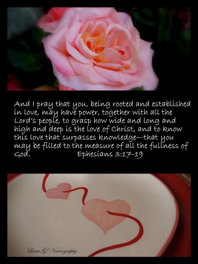 ephesians 317 19 a valentine prayer 2 comments - Valentine Prayer